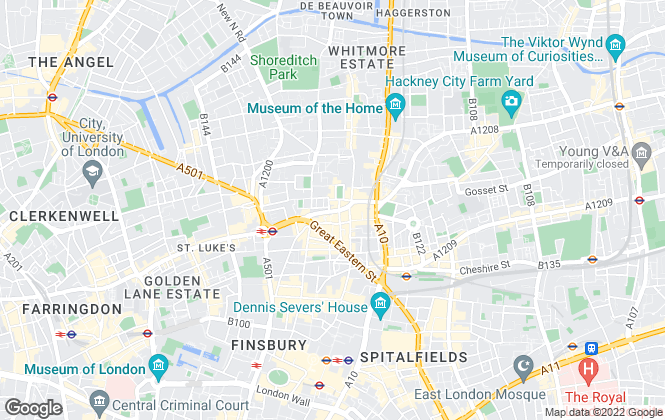 Map for Elkay Properties, London