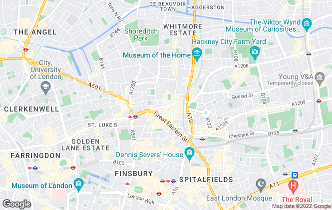Map for Elkay Properties Limited, London