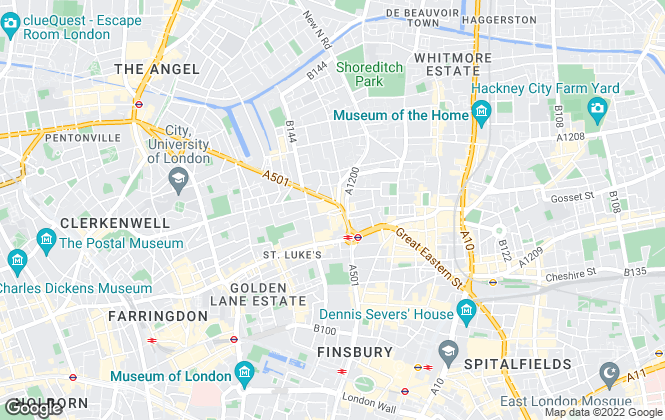 Map for eSnap Property, London