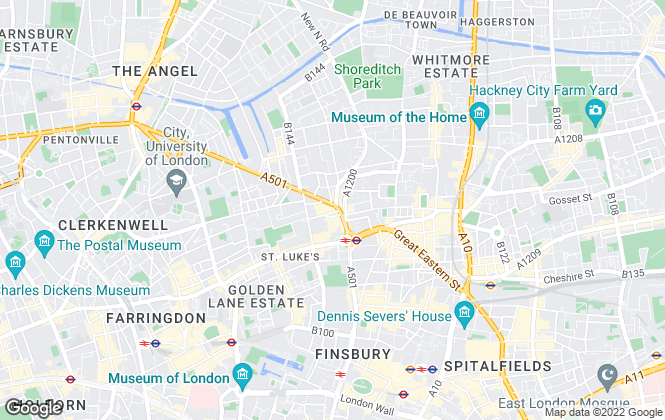 Map for Joel Ross Property, London