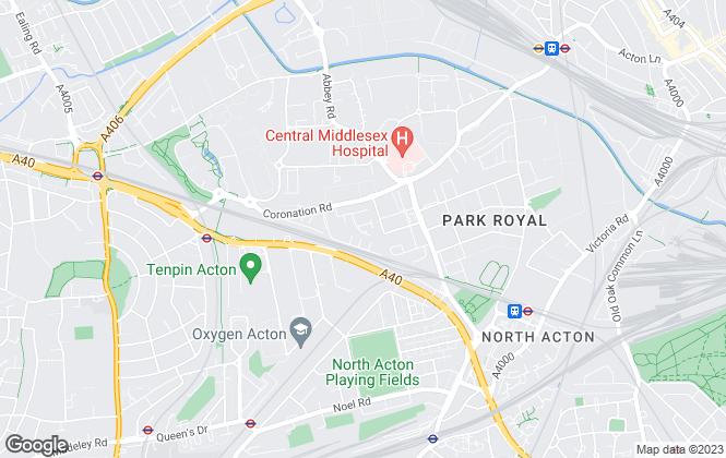 Map for Noor Gregorian, London