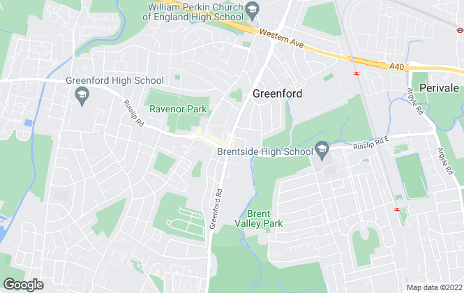 Map for Westbrook Estate Agents, Greenford
