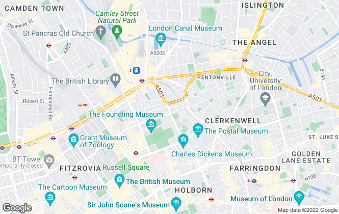 Map for Carter Reeves, London