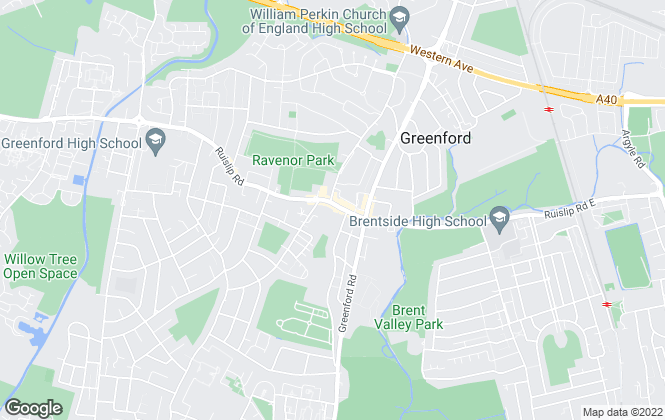Map for Arron James , Greenford