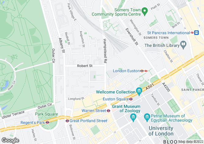 Map for Duke House, Hampstead road, London, NW1