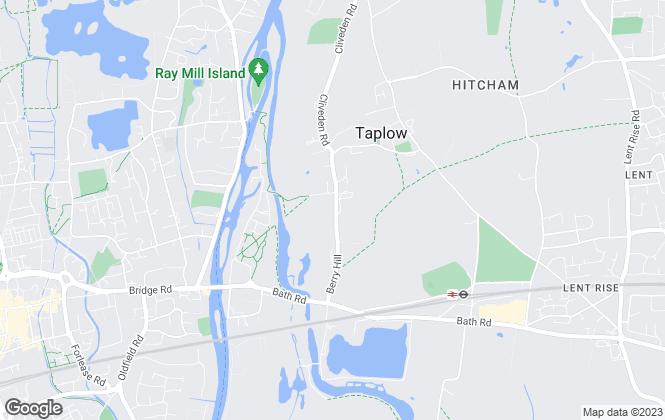 Map for Prime Quarters LTD, Taplow and Maidenhead