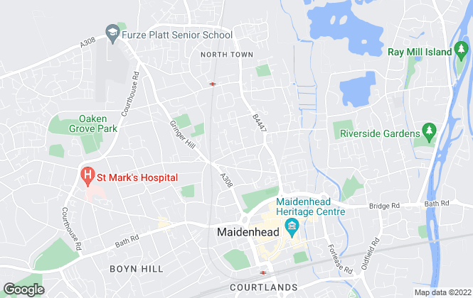 Map for Porter Penque Limited, Maidenhead