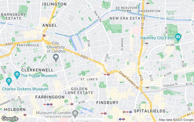 Map for Fraser & Co, City Office