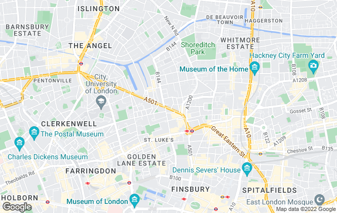 Map for Victorstone Property Consultants , City Road