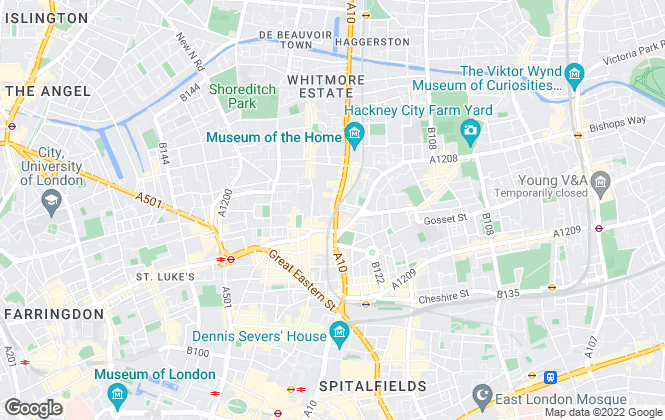 Map for City Office Search, London