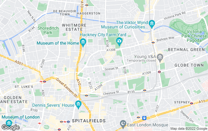 Map for Prospect Residential Sales and lettings Ltd, London
