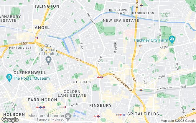 Map for Mintland, London