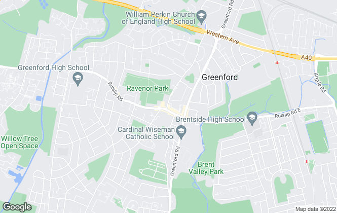 Map for Rolfe East, Greenford
