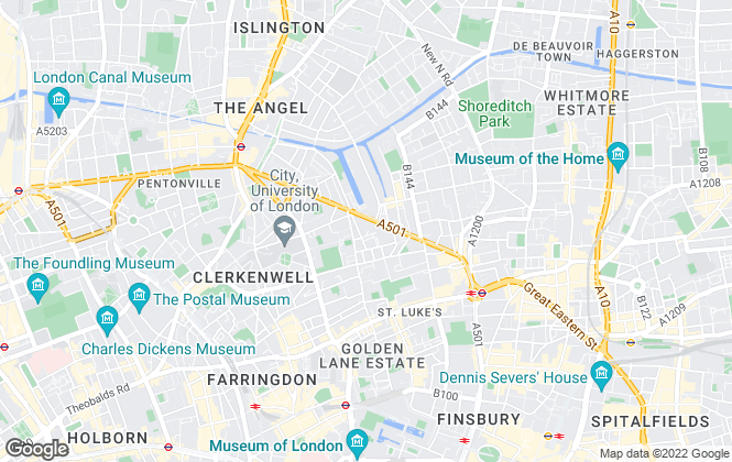 Map for Lime Residential House , London
