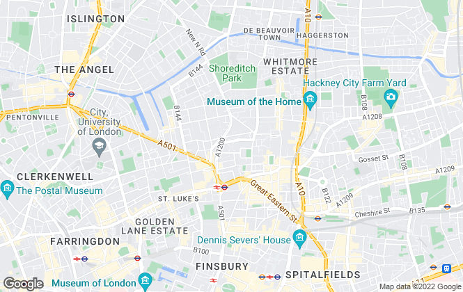 Map for NA Technologies, London