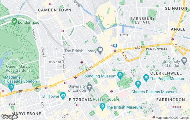 Map for Chaltons Estate Agent, London