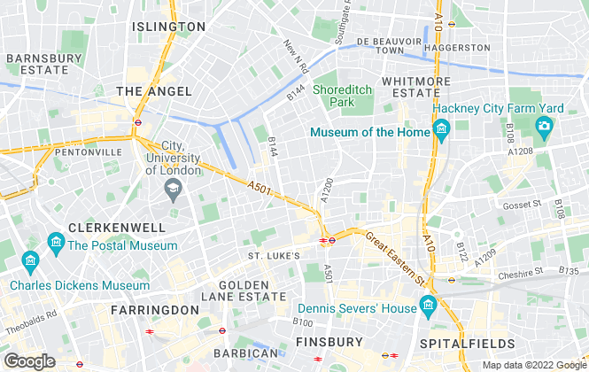 Map for Clever Property, London