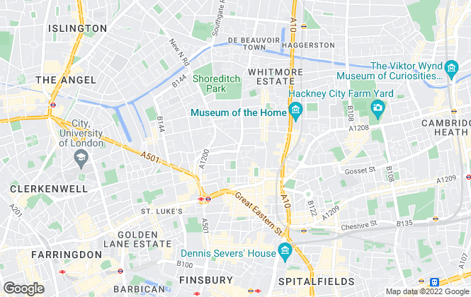 Map for Moving On, London