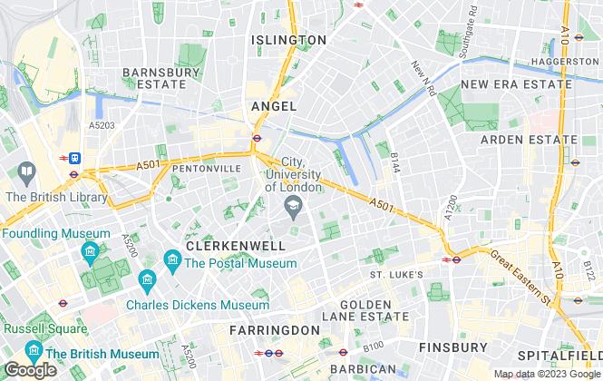 Map for Ad Hoc Property Management Ltd, London