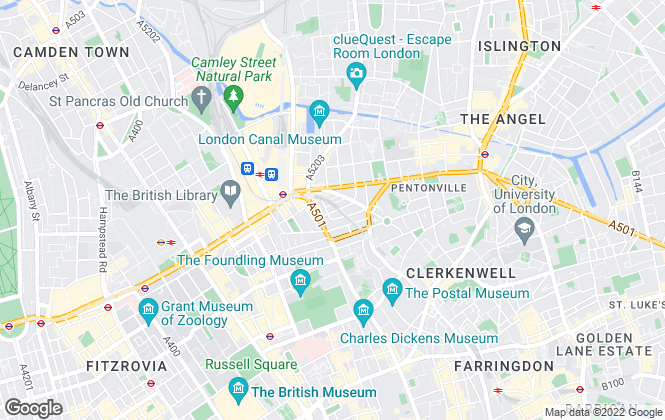 Map for Nested, London