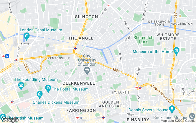 Map for Indago, London