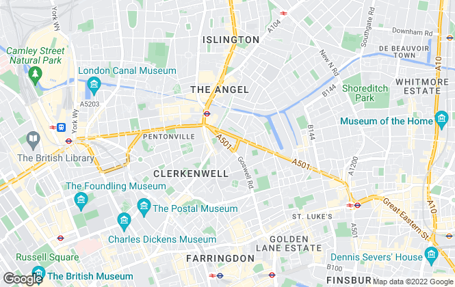 Map for Airsorted Lets, London