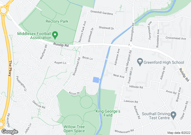 Map for Plot 80 at Canal View @ Grand Union Village, Broadmead Road,