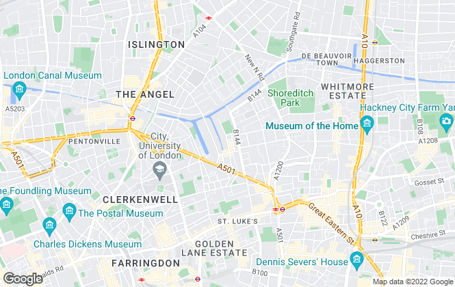 Map for NowProperty, London
