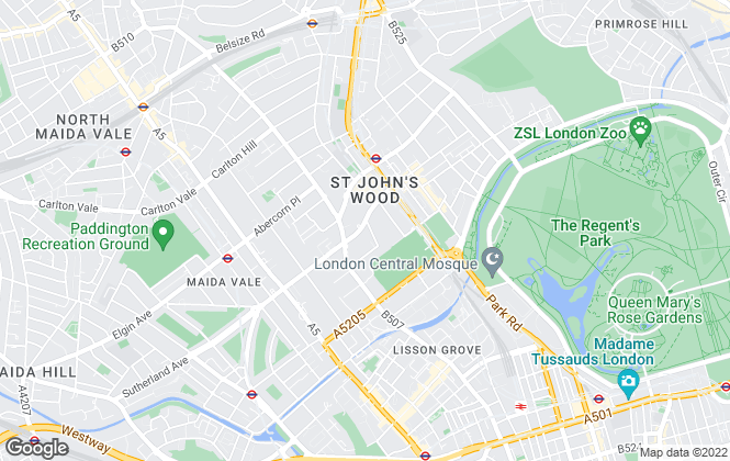 Map for Sotheby's International Realty, North London