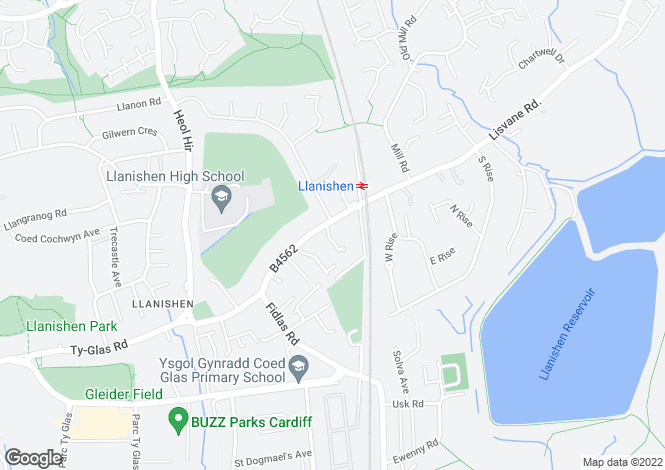 Map for Newlands Court, Station Road, Llanishen, Cardiff