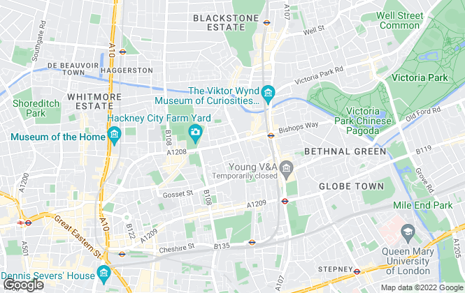 Map for Columbia Rentals Limited, London