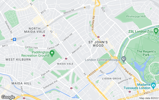 Map for Global Realty , St John's Wood