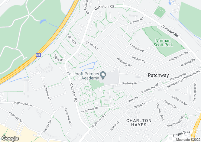 Map for Brighton Road,