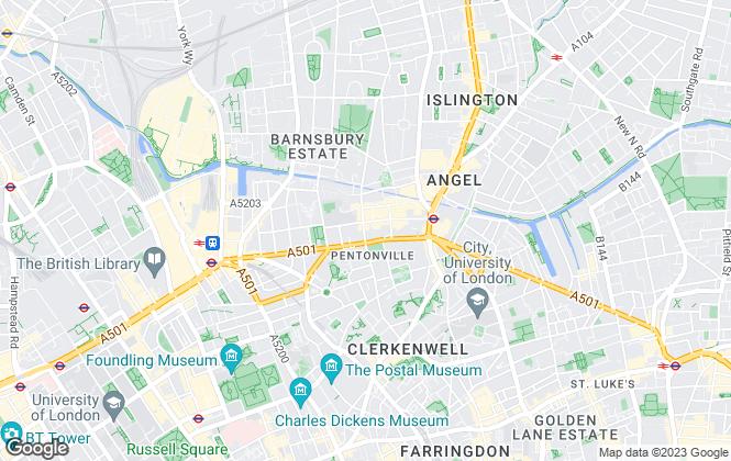 Map for Century 21 United Kingdom, UK