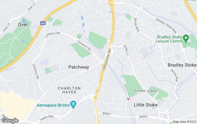 Map for Taylors Estate Agents, Patchway