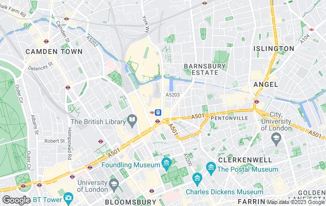 Map for Harpens Residential, London