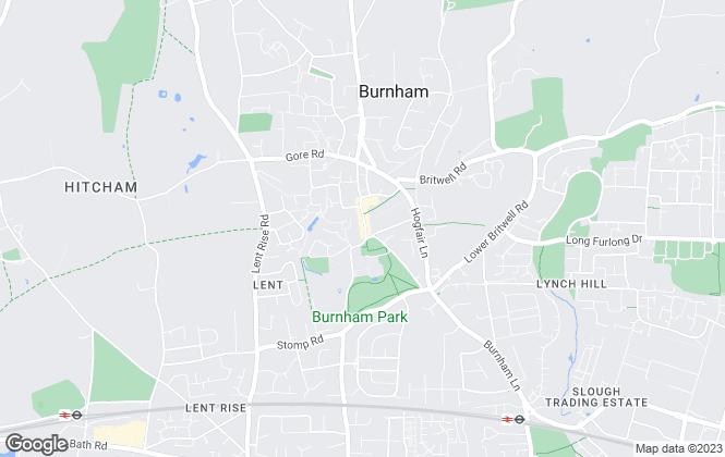 Map for Oakwood Estates, Burnham