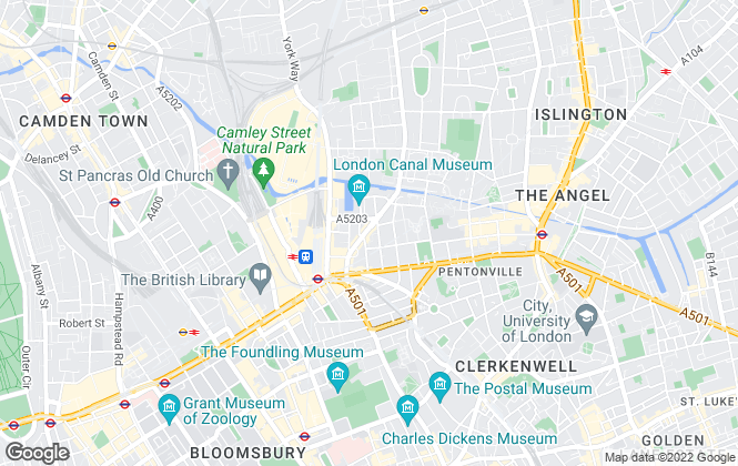 Map for MoveHome, London
