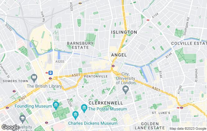Map for Daniel Rose Residential Ltd, London