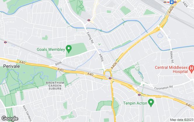 Map for Big Yellow Self Storage Co Ltd, Big Yellow Hanger Lane
