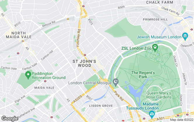 Map for Chestertons Estate Agents , St. John's Wood Lettings