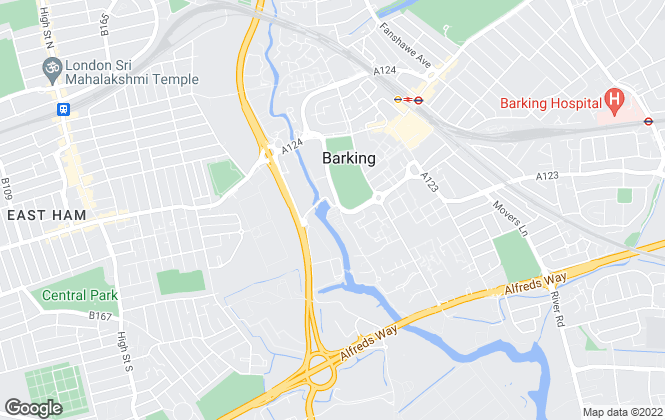 Map for Signature London, Barking