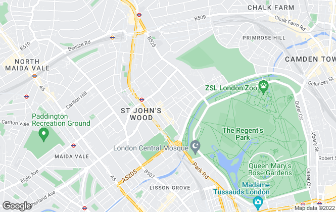 Map for Ian Green Residential, London