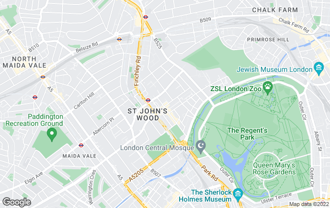 Map for Winkworth, St John's Wood