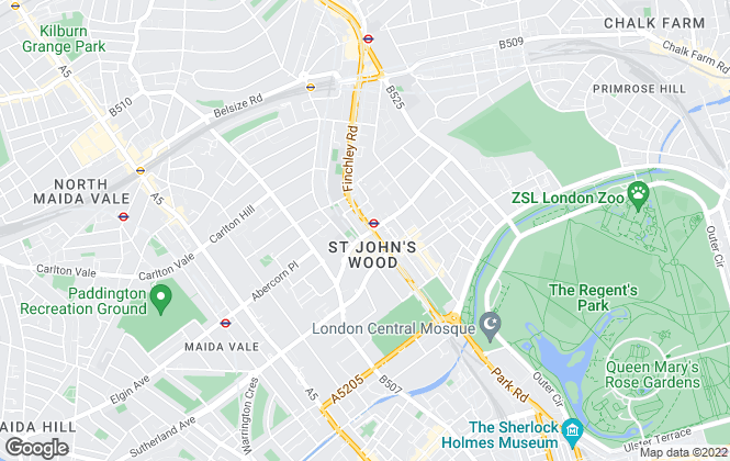 Map for ESTATE OFFICE INVESTMENTS LIMITED, London