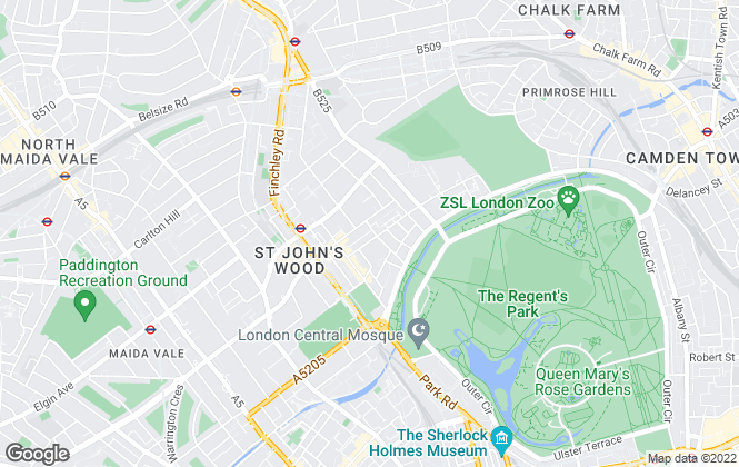 Map for Cluttons LLP , St John's Wood - Lettings