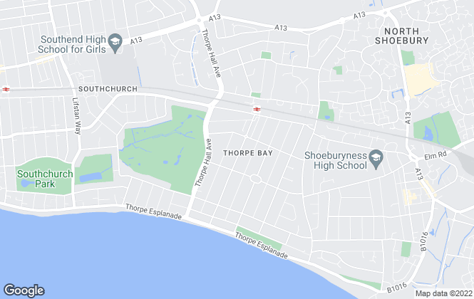 Map for Dedman Gray Property Consultants Limited, Thorpe Bay