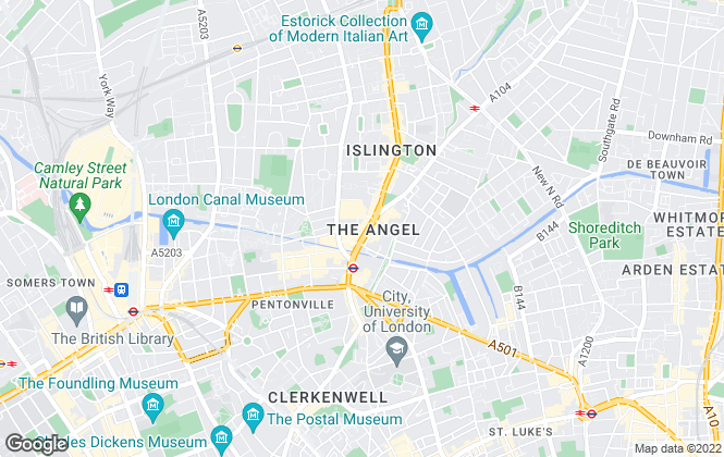 Map for London Chase Properties, London