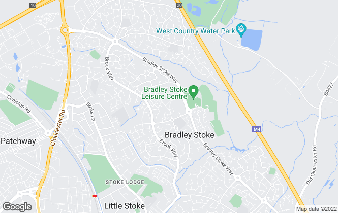 Map for Taylors Lettings, Bradley Stoke
