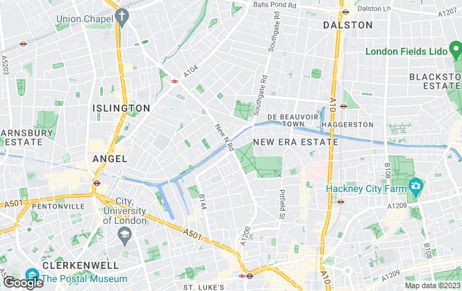 Map for IDM Estates Ltd, London